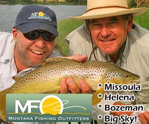 Montana Fishing Outfitters - Missoula area fishing