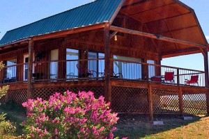Wilderness Spirit Cabins - colorful Spring lodging