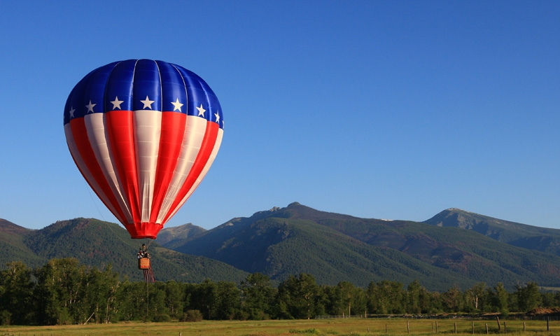 Bitterroot Valley Hot Air Balloon