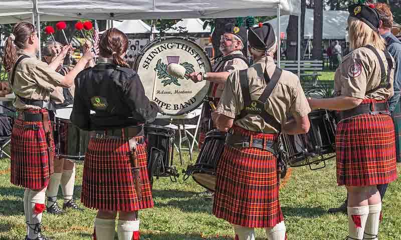 Bitterroot Scottish Irish Festival Hamilton Montana