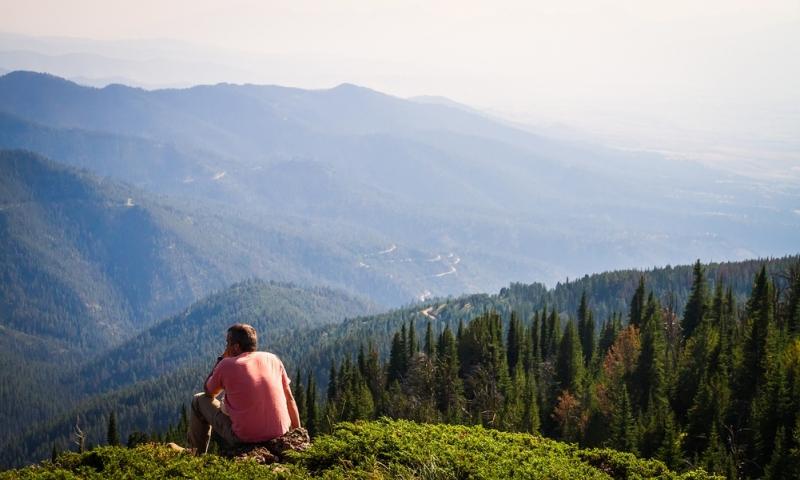 Sapphire Mountains Montana