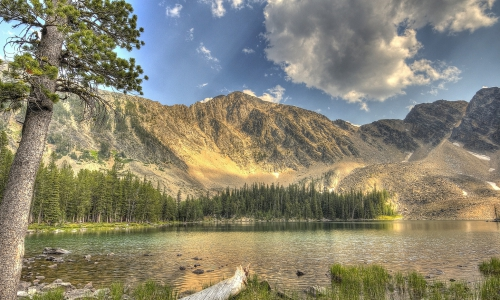 Tamarack Lake in the Anaconda Pintler Wilderness
