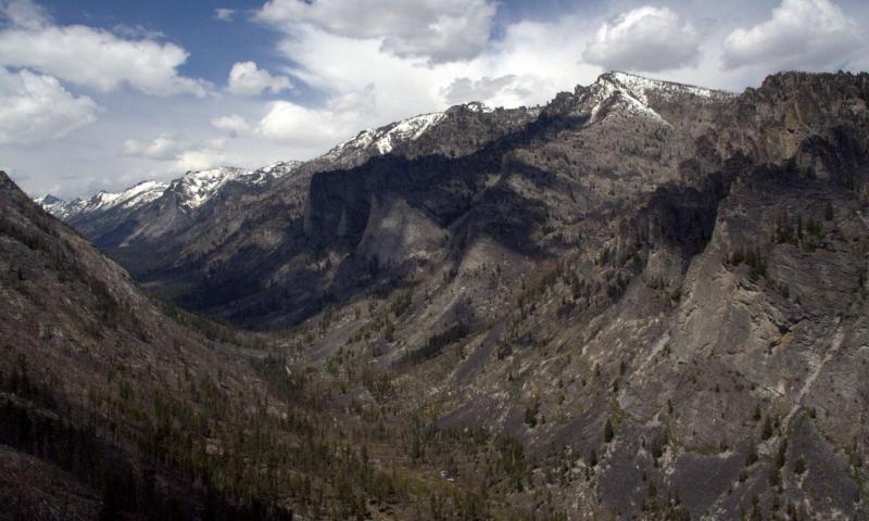Blodgett Canyon Montana