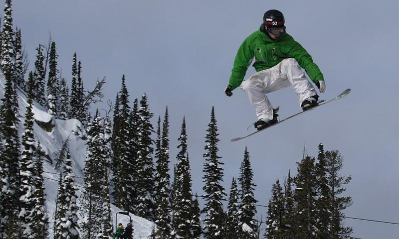 Snowboard Lost Trail