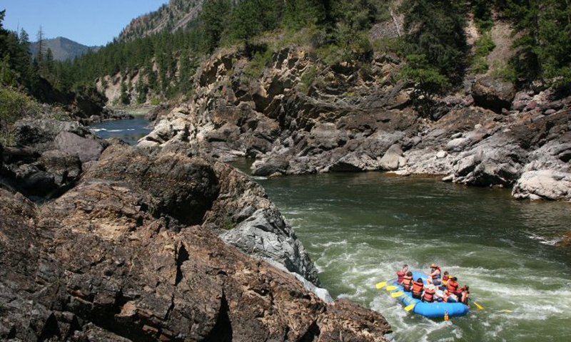 Bitterroot Valley Rafting
