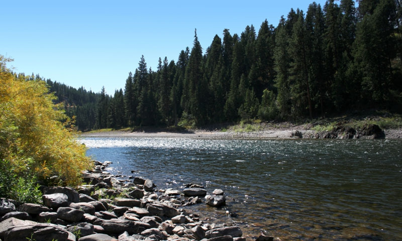 The Clark Fork River