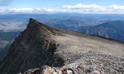 Trapper Peak in the Bitterroot Mountains