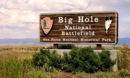 Big Hole Battlefield Montana