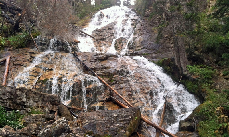 Skalkaho Falls Sapphire Mountains